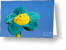 Smile Flower Greeting Card