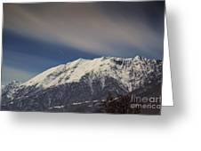 Snow-capped Alps Greeting Card