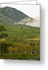 Snowbasin Utah Greeting Card