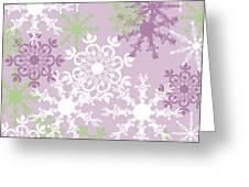 Snowflakes Greeting Card