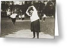 Softball Game Greeting Card