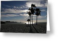 Sombrero Beach Greeting Card