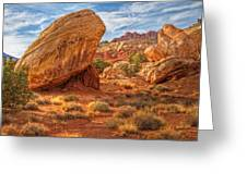 Southwest Desert Scene Greeting Card