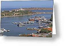 Sozopol Harbour Greeting Card