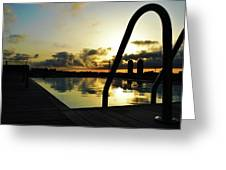 Spanish Sunrise Greeting Card