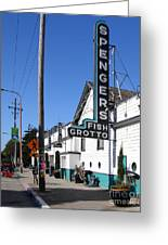Spengers Restaurant Berkeley California Greeting Card