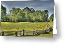 Split Rail Greeting Card