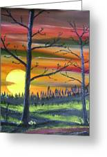 Spring Sunrise Greeting Card