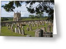 St James Church Graveyard Greeting Card