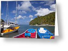 St Lucia Greeting Card