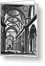 St. Paul's Cathedral, Historical Artwork Greeting Card by Middle Temple Library