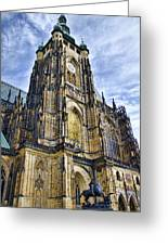 St Vitus Cathedral - Prague Greeting Card