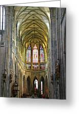 St. Vitus Cathedral Greeting Card
