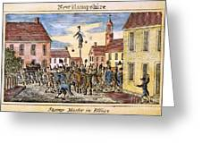 Stamp Act: Protest, 1765 Greeting Card