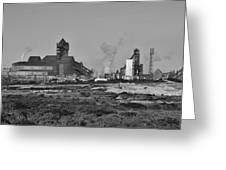 Steel Works Greeting Card