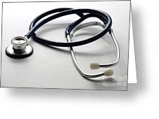 Stethoscope Greeting Card by Photo Researchers, Inc.