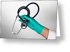 Stethoscope Greeting Card