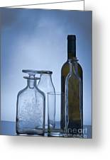 Still Life Of Bottles  Greeting Card