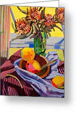 Still Life With Mangoes Greeting Card