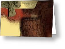 Stilleben Mit Steinen Greeting Card