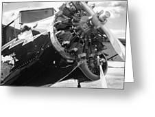 Stinson Tri-motor 1931 Greeting Card by Maxwell Amaro