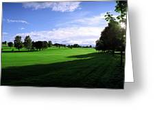 Stirling Golf Club Fairway Greeting Card