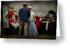 Store - The Hat Stand  Greeting Card