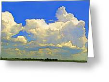 Storm Clouds Rising  Art Greeting Card