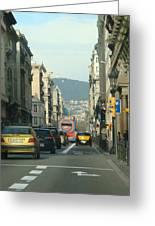 Streets Ahead Greeting Card
