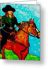 Sunday Afternoon Cowgirl Greeting Card
