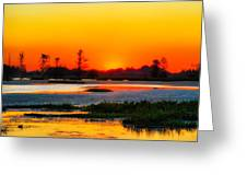Sunrise Circle B Bar Reserve Greeting Card