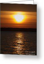 Sunrise On Seneca Lake Greeting Card