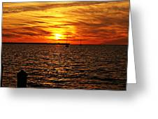 Sunset Xxxii Greeting Card