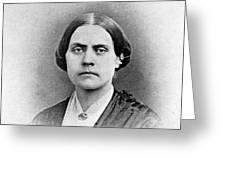 Susan B. Anthony, American Civil Rights Greeting Card by Photo Researchers, Inc.