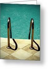 Swimming Pool Greeting Card
