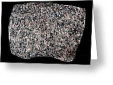 Syenite Igneous Rock Greeting Card