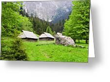 Tatra Mountains In Poland Greeting Card