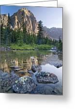 Taylor Lake, Banff National Park Greeting Card