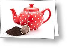 Teapot Greeting Card