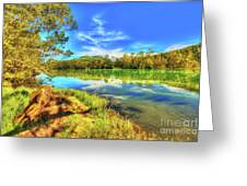 Telaga Warna Lake Greeting Card