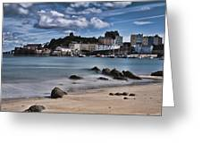 Tenby Harbour 2 Greeting Card