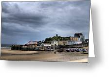 Tenby Harbour From North Beach 2 Greeting Card