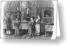 Thanksgiving, 1853 Greeting Card