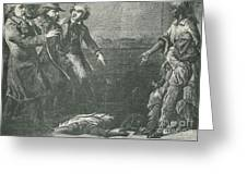 The Capture Of Margaret Garner Greeting Card