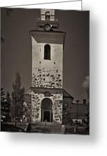 The Church Of Kuopio Greeting Card