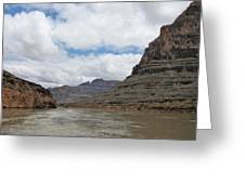 The Colorado River-a Grand Canyon Perspective II Greeting Card