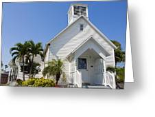The Community Chapel Of Melbourne Beach Florida Greeting Card