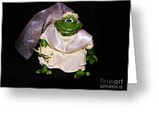 The Green Bride Greeting Card