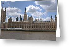The Houses Of Parliament Greeting Card