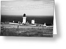 The Lighthouse At Dunnet Head Most Northerly Point Of Mainland Britain Scotland  Greeting Card